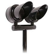 Schooner Path Light Solid State (BKSSL) Power of 'e' with Adjust-e-lume (SCP)