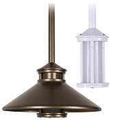Miniature Beacon Stem Mount Pendant Solid State (BKSSL) (MBS)