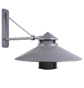 Large Beacon Wall Mount Solid State (BKSSL) (LBW)