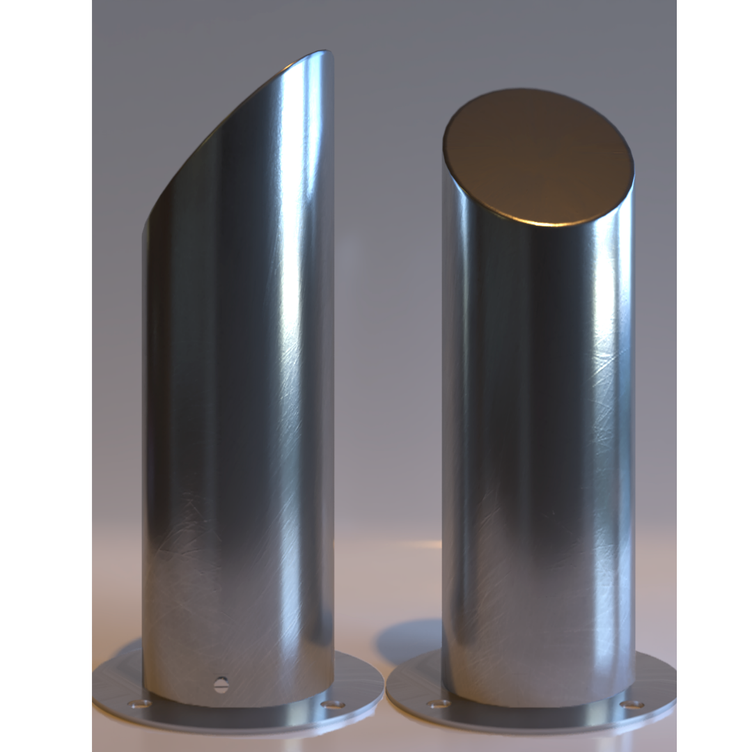 Art 13 Slope Top Security Rated Bollard