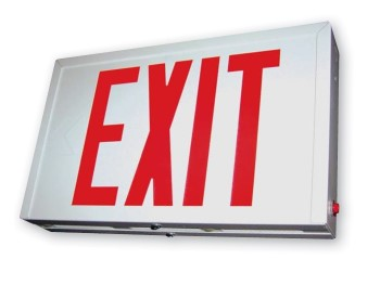 EXIT SIGN - SERIES EXS