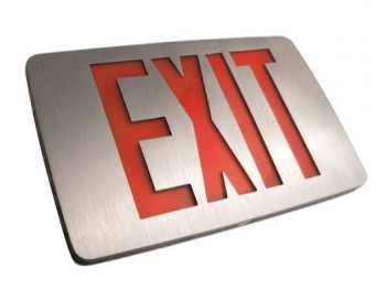 EXIT SIGN - SERIES EXTDCA
